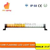 wholesale led light bar 120W multi color led light bar for trucks RGB colorful