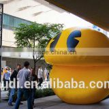 12' Diameter Inflatable Pac-Man for Advertising