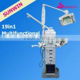 SW-19M 19 in 1 facial instruments diamond dermabrasion facial machine