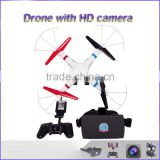 Best price perforance VR drone with HD camera 2.4GHZ wifi Radio control follow me drone