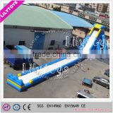 Giant outdoor amusement water park ,Outdoor playground, giant inflatable water slides , water theme park slides