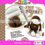 Chinese DIY knitting crochet cross stitch kit ,handmade crochet knitting kits