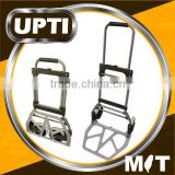 Taiwan Made High Quality Folding Trolley Sack Truck Lifting Picking Foldable Steel & Aluminium Plate Trolley Cart