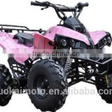 "Pink 110cc ATV for girl/110cc/125cc 8"" semi-automatic sport ATV/125cc cool racing ATV for sale (TKA125-J)"
