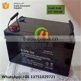 Free maintenance 60AH 65AH 75AH solar sealed lead acid deep cycle ups battery