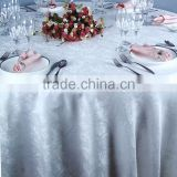 Factory Wholesale hotel restaurant banquet party table linens white tablecloth wedding round table cloths for sale