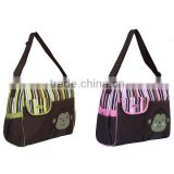 cartoon stripe pattern baby carry bag