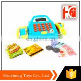 best selling simulate electric smart supermarket toy cash register with light