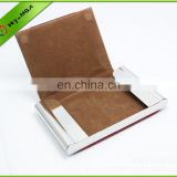 New design Mens Leather Credit Card Holder Purse Money Clip Wallet Credit/ID Card Holder for sales