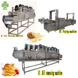 China supplier full automatic potato chip machine of chips production line