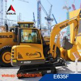 SDLG 3.5 ton mini hydraulic excavator E635F with best quality and low price