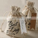 High quality linen sachets lavender bags for wedding favor