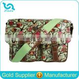 Wholesale 2015 Retro Vintage Owl Oilcloth Bags Ladies Cross Body Satchel Messenger Shoulder School Bag