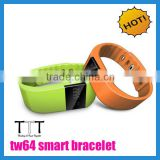 tw64 Smart bracelet Wristband Fitness tracker Bluetooth 4.0 fitbit flex Watch smart bluetooth bracelet