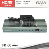 1.4v HDMI Splitter Amplifier 1 input 4 output - Gaia Vision