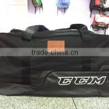 600D Ripstop polyester Hockey Stick Bag On Wheels