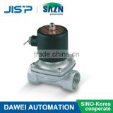 2W series direct-acting diaphragm type stainless steel solenoid valve