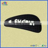 PVC label for garments , soft PVC label
