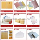 custom size and printing design kraft envelope with button and string closure, kraft envelope with button manufacturer in China