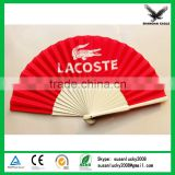 Silk screen printing plastic fan handle (directly from factory)