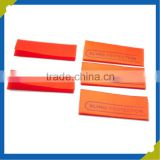 Customized printing design label Orange/pink round printing label made in china label printing