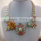 Shourouk Crystal Flower necklace Newest brand Jewelry in stock