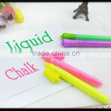 liquid chalk marker (colorful ,undusty )