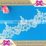 T0130 (0.9)Factory wholesale popular wedding design african trimmings ribbons laces fabric trim