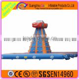 Car Theme Inflatable Climbing Wall