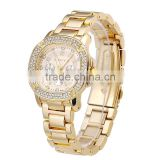 Charm Girls Luxury Rhinestone Watch Vintage Women Diamond Quartz Clock