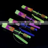Wonderful Light up Amazing Flying Arrow Helicopter with Blue Light