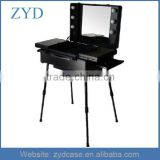 Wholesale China Black Makeup Case Aluminum Led Light Display Suitcase ZYD-HZMmlc013