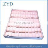 Metal sample display suitcase,aluminum jewelry storage case,aluminum watch display box ZYD-BX92719