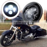 LED Headlight Fits Harley Chopper Motorcycles - 7 Inch Round Projector LED Headlights                                                                         Quality Choice