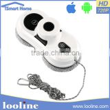 Looline Double Use Window Floor Vacuum Cleaner Cyclone Gold Dust Ball Remote Control Multi-Surface Cleaning Robot