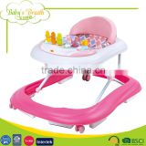 BW-52 new model outdoor plastic wheels baby walker parts seat china