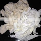 COTTON & PC OFF WHITE/ECRU CLIPS/ TEXTILE WASTE