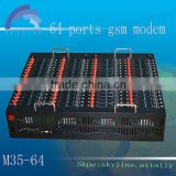 64 port mms sms modem for sms sending multi port gsm modem usb interface industrial modem
