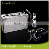 Sexy LED light ecigarette dry herb vaporizer jomo dark knight honour,E Cigarette Dry Herb Mod Wax Dry Herb Cigarette