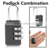 Wholesale Price Resettable Secure Digital Padlock Travel Padlock Combination                                                                         Quality Choice