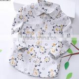 Kids clothing latest fashion children embroidered baby girl blouse design