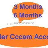 Low price for 3 months and 6 months Killer CCCAM ACCOUNT for africa better than Qsat