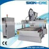 Factory supply 8 tools Round ATC cnc router with Syntec system for wood furniture                                                                                                         Supplier's Choice