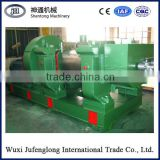 XKP-400 Single- channeled Waste tire crushing mill/Rubber cracker mill/Tyre shredder machine prices