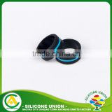 Custom silicone rubber teething o wedding finger ring