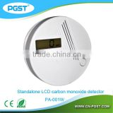 carbon monoxide detector/co alarm sensor for home alarm system
