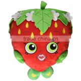 St fruit toys strawberry girl piilow best festival decoration baby room toys