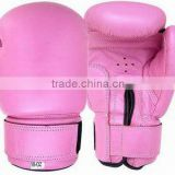 Pink women Boxing gloves