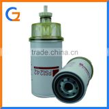 types of Fuel filter FS1242 diesel filter for man truck parts with cap