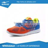 ERKE wholesale drop shipping brand colorful lifestyle breathable mesh mens spots running shoes